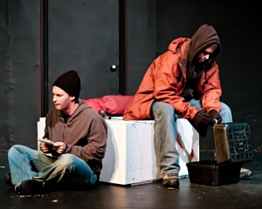 "Tony DeCarlo and Casey Nelson in ""What We Don't Remember"""